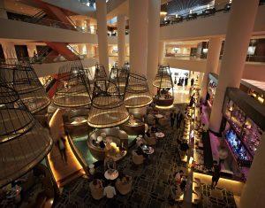 Atrium Bar Aerial View