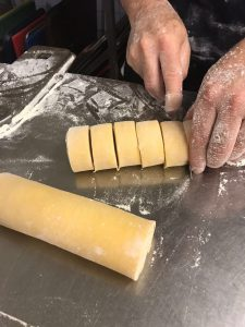 Solo Pasta cutting pappardelle ribbons