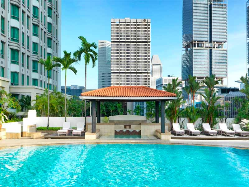 IINTERCONTINENTAL SINGAPORE - HOTEL REVIEW by The Walking Critic - swimming pool