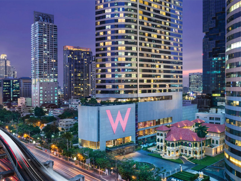 W BANGKOK HOTEL REVIEW
