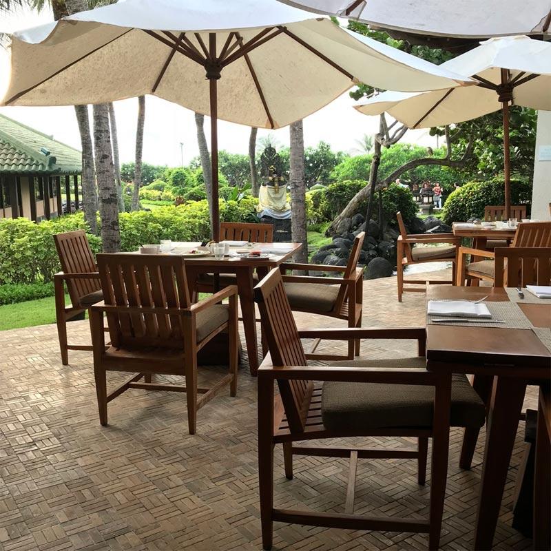 GARDEN CAFE GRAND HYATT NUSA DUA HOTEL REVIEW