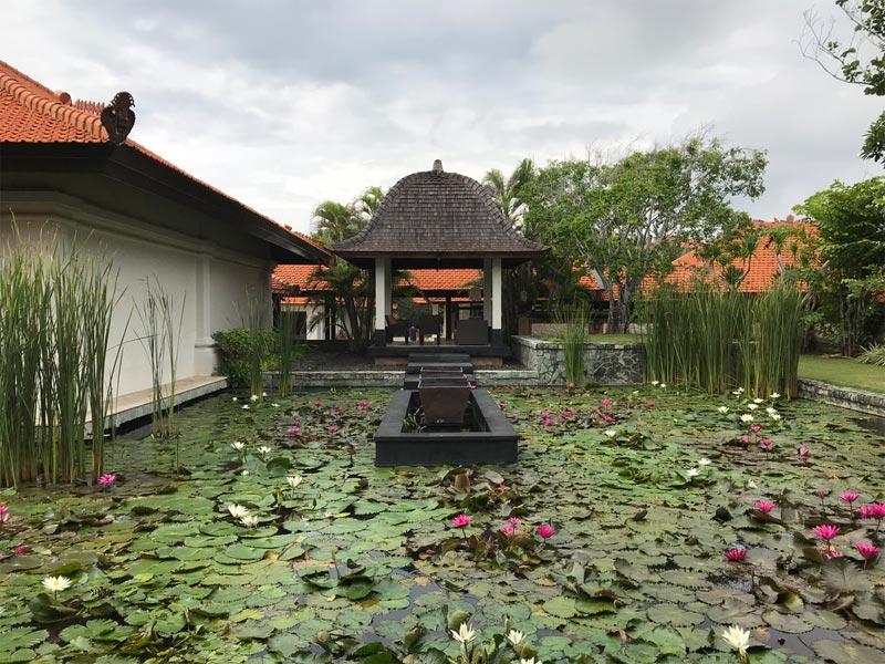 GRAND HYATT NUSA DUA HOTEL REVIEW BALI water gardens