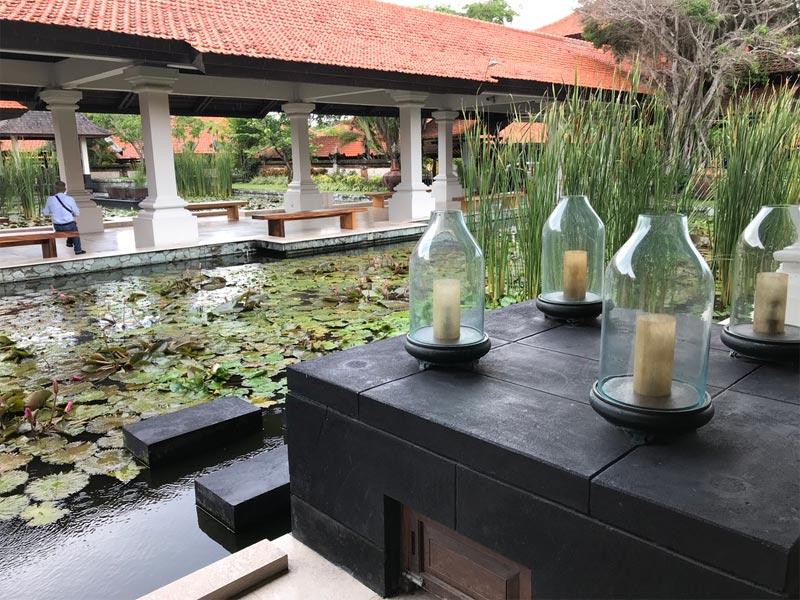 GRAND HYATT NUSA DUA check in reception area Bali