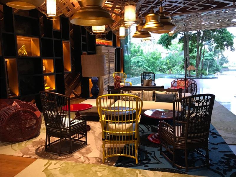 HOTEL INDIGO BALI REVIEW lobby neighbourhood