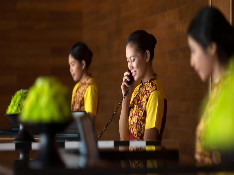 HOTEL INDIGO BALI review check in staff