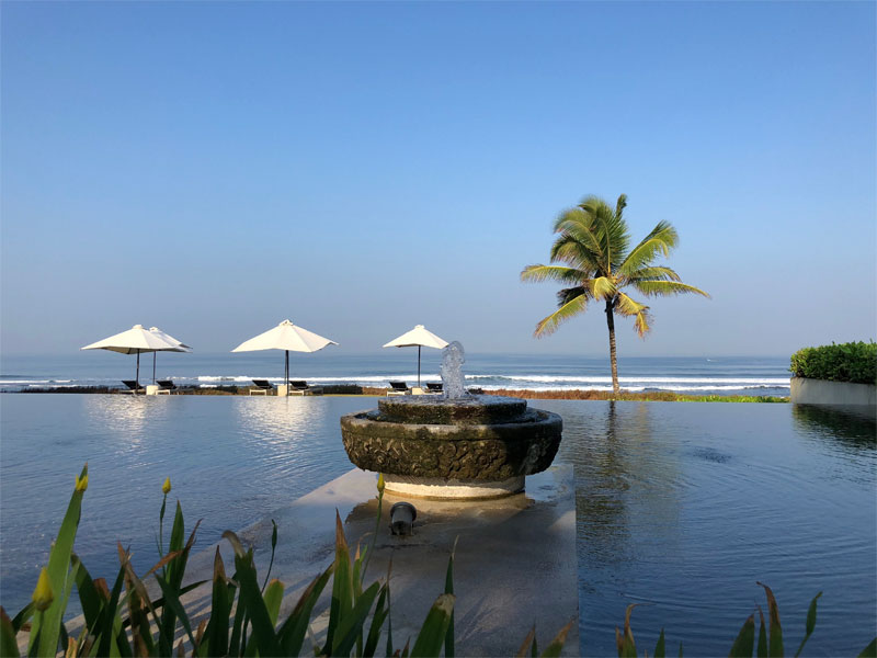 SOORI BALI Ombak view from terrace to ocean
