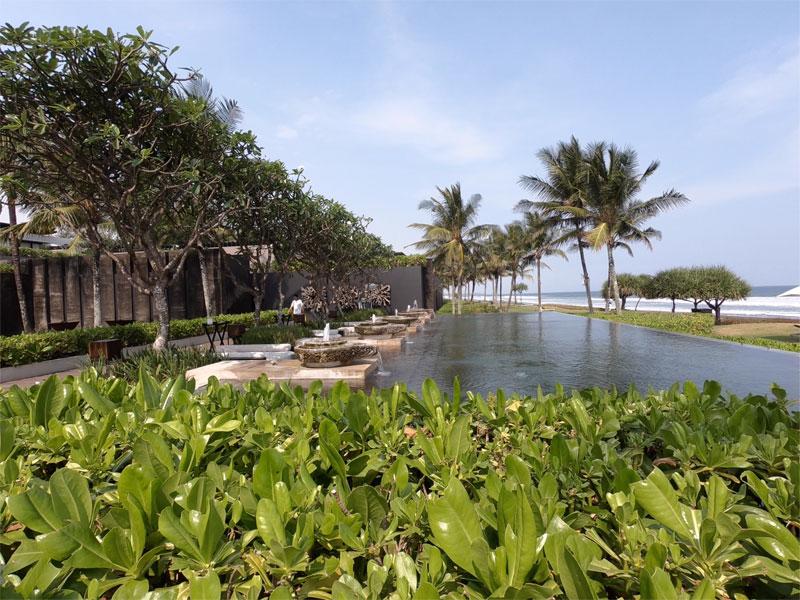 SOORI BALI side view to villas from Ombak