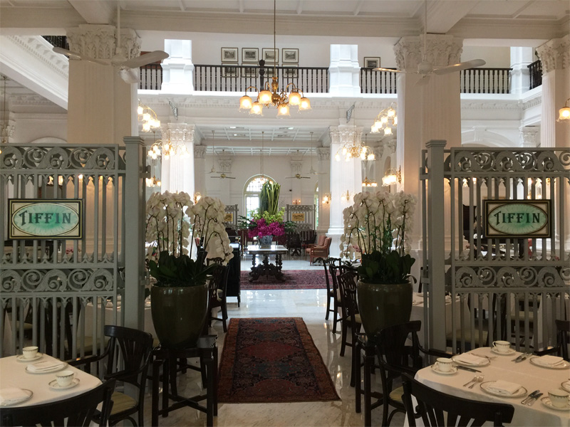 Raffles Hotel Singapore Tiffin Room