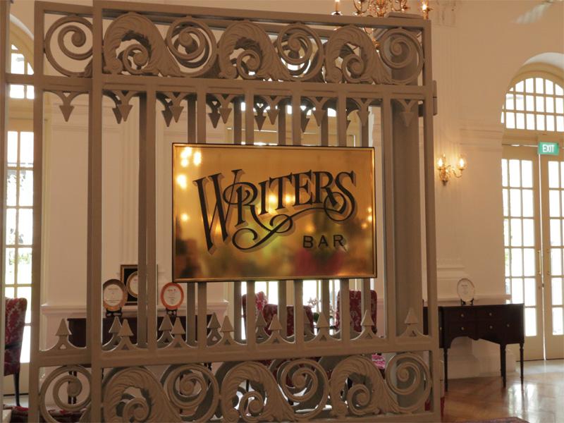 Raffles Hotel Singapore Writers Bar