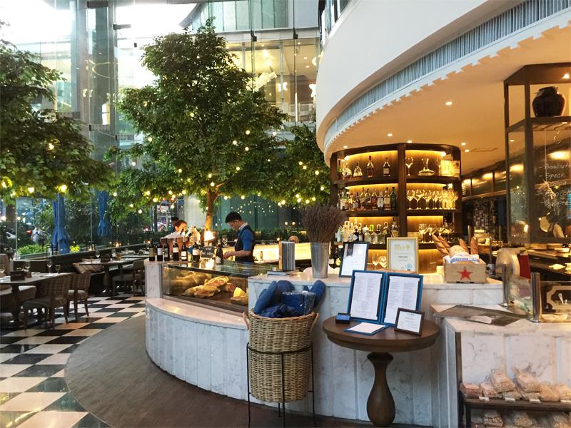 Theo Mio Italian restaurant Intercontinental Bangkok