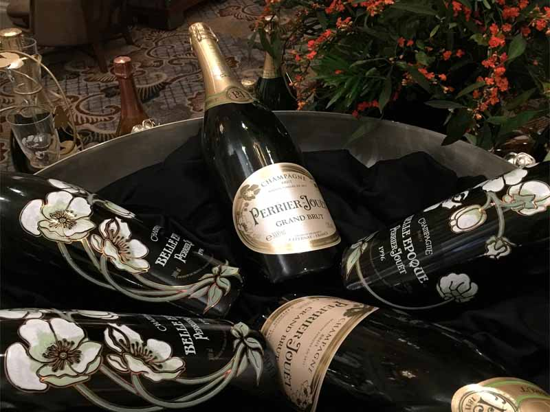 INTERCONTINENTAL SINGAPORE Perrier Jouet champagne