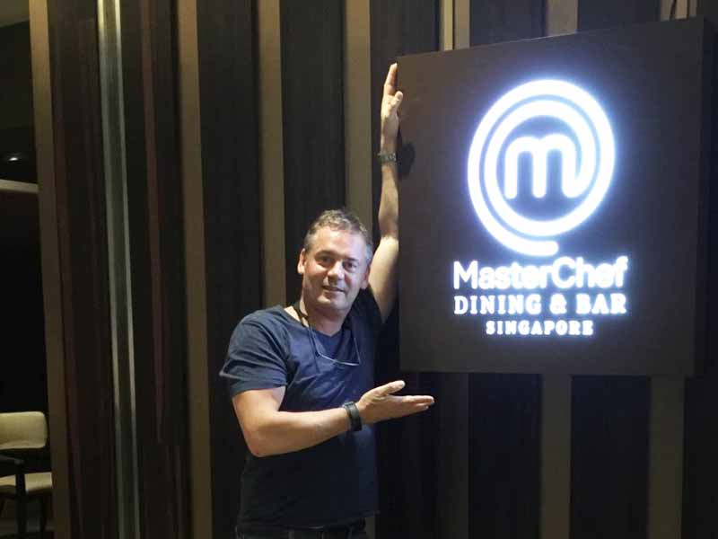 INTERCONTINENTAL SINGAPORE The Walking Critic Master Chef