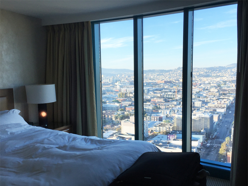 INTERCONTINENTAL SAN FRANCISCO good morning view