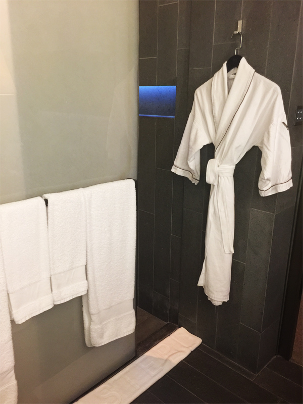 W HONG KONG bathroom bath robes and towels