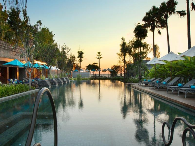 HOTEL INDIGO BALI main pool ocean view